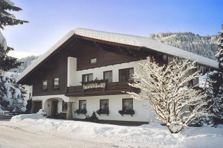 Foto Pension Montana im Winter